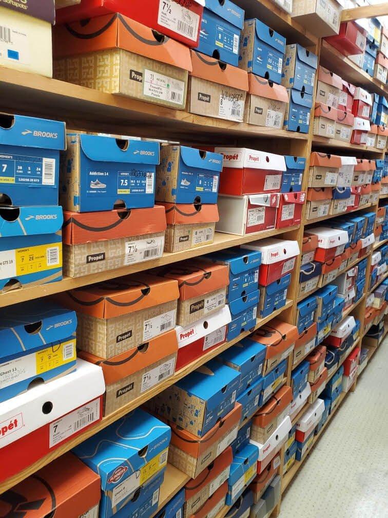 shoe inventory